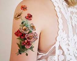 10 vintage style flower tattoos for ladies