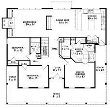 3 bedroom house plans one story 3 bedroom 1 bath house plans crafty design 3 bedroom 2 bath house