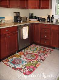 Floral Pattern Rugs Kitchen Accessories Colorful Floral Pattern Kitchen Rugs Kitchen