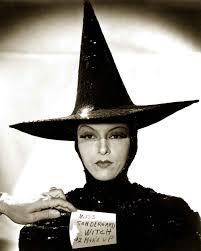 wicked witch west costume gale sondergaard wizard of oz witch makeup test 1930s makeup