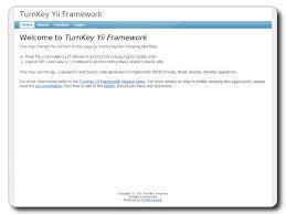 yii layout and sublayout yii framework php framework turnkey gnu linux