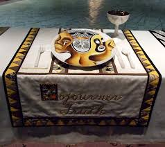 judy chicago dinner table ipernity setting for sojourner truth in the dinner party by judy