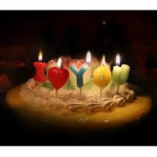 imagenes de cumpleaños sin letras un juego te amo decoración cumpleaños velas vela grado en forma de