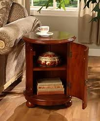 Accent End Table Amazon Com Birch Drum Table This Decorative Accent Table