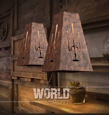 aliexpress com buy retro bar restaurant iron lamps creative