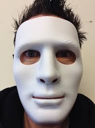 the purge mask halloween store white mime robot mask the purge dance crew halloween hockey hip