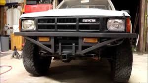 Old Ford Truck Bumpers - homemade front and rear bumpers toyota pickup youtube