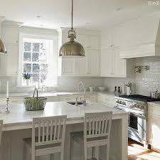 White On White Kitchen Ideas Deck Bridge Mount Gooseneck Kitchen Faucet Design Ideas