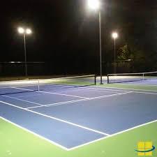 Outdoor Led Flood Lighting - tennis u0026 pool revamp outdoor led flood light solution
