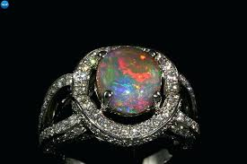 black opal engagement rings black opal and diamond ring black opal engagement ring uk pinster