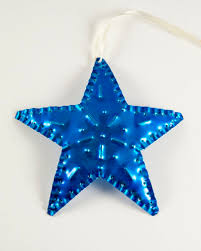 punched hanging ornaments decorations