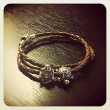 pandora silver leather bracelet images Leather pandora bracelet glamorous gamer girls jpg