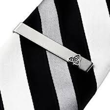 tie box gift celtic tie clip tie bar tie clasp business gift handmade