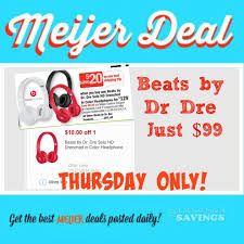 meijer beats by dr dre deal as low as 94 thanksgiving day only