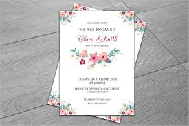 engagement party invitation 9 design template sample example