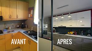 cuisine avant apres avant après créer une cuisine ouverte pour moderniser
