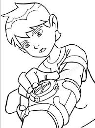 ben 10 coloring pages game coloring kids
