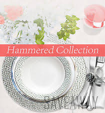 silver wedding plates wedding plastic plates ebay