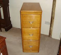 Three Drawer Wood File Cabinet by Edwardian Solid And Golden Oak Three Drawer Filing Cabinet