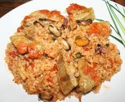 cuisiner le foie de lotte arroz senyoret riz en paella de l homme précieux au foie de