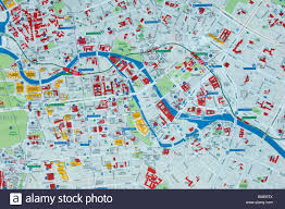 Map Of Berlin Germany by Berlin Mitte Information Map Berlin City Germany Stock Photo