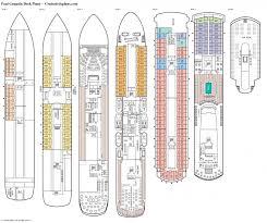 Carnival Floor Plan Extraordinary Carnival Victory Floor Plan Crtable