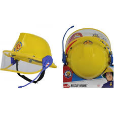 fireman sam helmet microphone toys toyworld