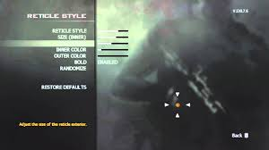 tutorial hack mw3 mw3 wii how to change the crosshair youtube