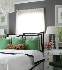 Black And Green Curtains Black And White Bedroom Ideas
