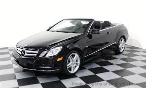 2012 used mercedes certified e350 convertible amg sport