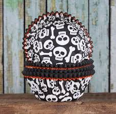 halloween cupcake liners skull cupcake liners pirate cupcake