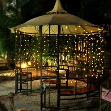 Christmas Patio Lights by Innoo Tech Solar Outdoor String Lights 19 7 Ft 30 Led Warm White
