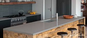 furniture 4003 sleek concrete caesarstone countertop with sink