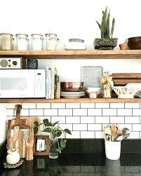 kitchen open shelving ideas open kitchen shelving fitbooster me