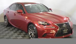 red lexus lexus is 350 for sale used cars on buysellsearch