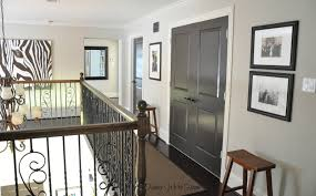 Paint Colours For Home Interiors Painted Dark Grey Doors Honey We U0027re Home