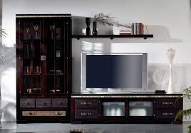 modular de salón colonial en wengué yalse en ámbar muebles