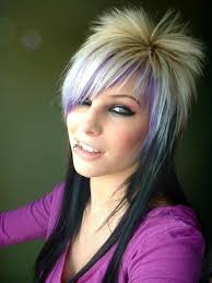 hairstyles short on top long on bottom 68 sexy expressive emo hairstyles for every occasion