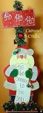 cute christmas craft tall santa wood craft santa checking his