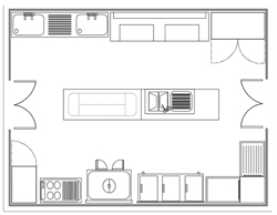commercial kitchen design layout small commercial kitchen design layout kitchen and decor