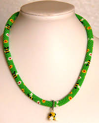 beaded necklace rope images Free pattern for beaded crochet rope glade beads magic jpg