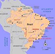 map of brazil brazil country profiles key facts original articles