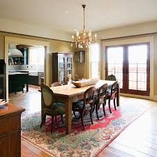 Trend Of Rug Under Dining Room Table Editeestrela Design - Dining room rug ideas