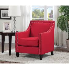 contemporary accent chair red accent chairs best buy