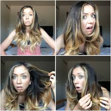 bronde hair home coloring ombre hair concept from diy ombre at home touching up ombre la belle