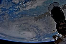 astronauts satellites track dangerous hurricane harvey from space