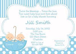 twin boy baby shower invitations reduxsquad com