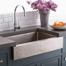 Native Trails Farmhouse Kitchen Sink - Hammered kitchen sink