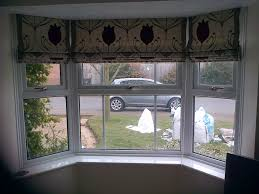 roman blinds made for a bay window decorating ideas pinterest