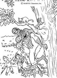 hulk spiderman coloring pages coloring sheets boys